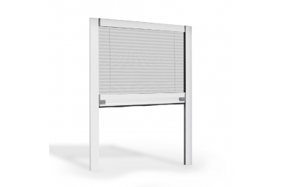 Vertical Pleated Mosquito Net for Window Friction Opening Circe