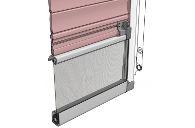 Flyscreen Bettio Flip 2 for Blinds in Jut with Lateral Lever