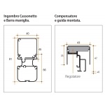 Mosquito Net Bettio Miniscenica 1 Swing Shift Side Without Barriers 40