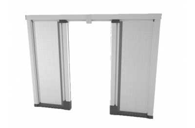 Mosquito Net Bettio Scenica 2 Shutters Side Scrolling Without Barriers 50