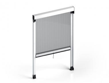 Mosquito Net Quadra Vertical standard spring Cassonetto 50mm Zanzar Sistem