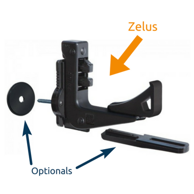 Zelus Automatic Universal Shutter-Stop Simple Opening and Closing Pettiti Giuseppe